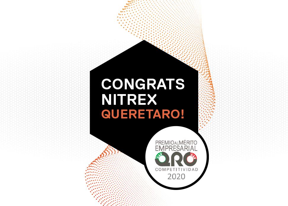 Nitrex Querétaro, Mexico Wins 2021 Business Merit Award