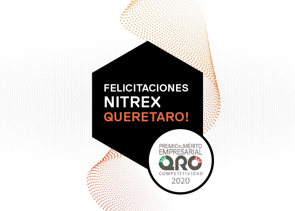 Nitrex Querétaro, México Gana Premio Al Mérito Empresarial 2020