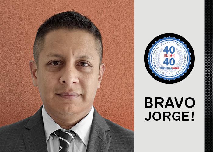 Jorge Ramirez HTT 40 under 40 award